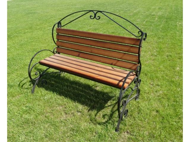 Садовая скамейка Элегант