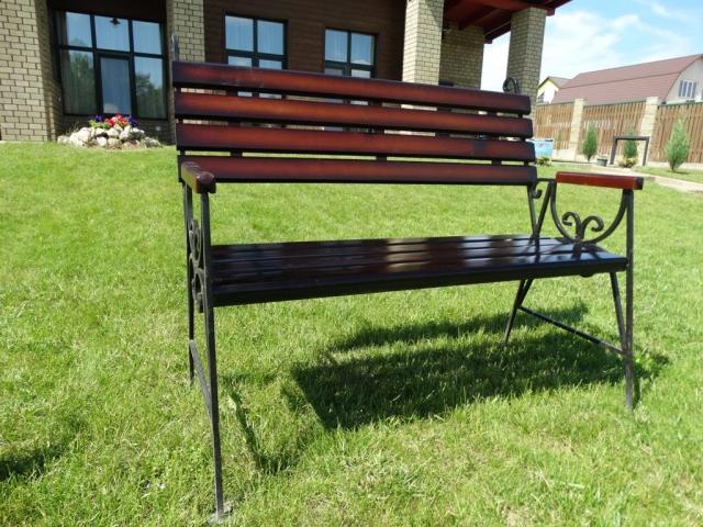 Садовая скамейка Люкс