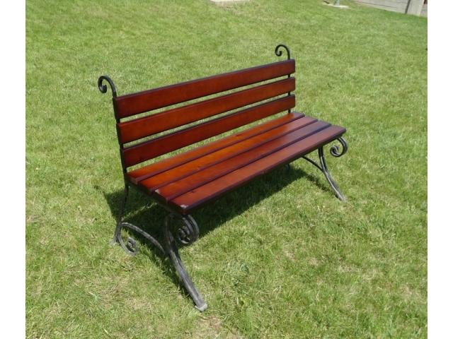 Садовая скамейка Премиум