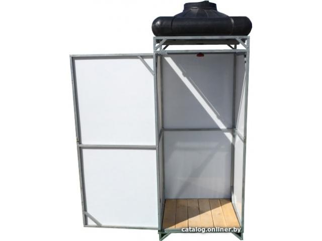Летний душ Импласт (не сварной). Бак: 110 литров (с обогревом и без)